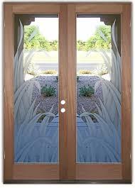 etched glass doors reeds 2d etched glass doors tropical decor l sans soucie