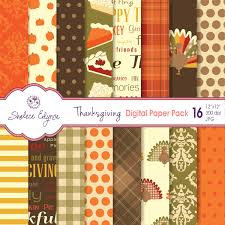 thanksgiving scrapbook paper thanksgiving digital paper pack 12x12 instant download for cards
