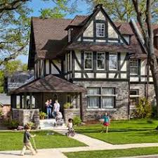 english tudor home restored 150 stained glass windows and steel frames in this tudor