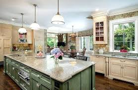 green kitchen island green kitchen cabinets image of kitchen paint colors with
