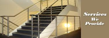 Timber Handrails And Balustrades Our Services Winzer Challis Stainless Steel Handrails Metal