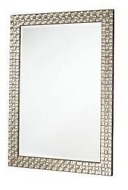 Oak Bedroom Furniture John Lewis John Lewis Antique Silver Mosaic Wood Frame Wall Mirror 58x81cm