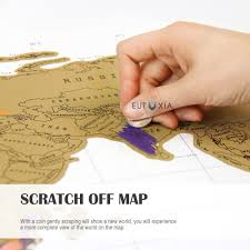 Where I Ve Been Map Accessorygeeks Com Eutuxia Travel Scratch World Map 34x20 Inch