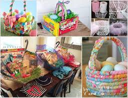 ideas for easter baskets 25 adorable easter basket ideas