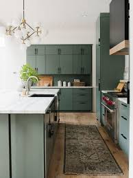 green kitchen cabinets 8 stylish green kitchen cabinets ideas that are going to