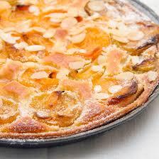 amandine cuisine recette tarte amandine aux abricots