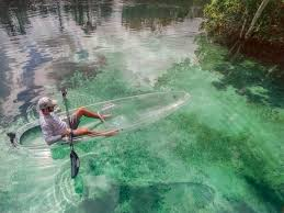 clear kayak these clear kayaks provide an unforgettable florida adventure