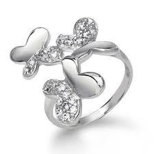 cincin perak model model cincin perak kilauan perak