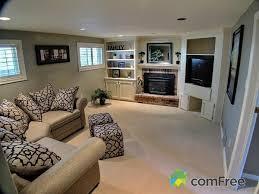 basement idea sidesplit house pinterest basements living
