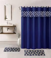 Bath Shower Curtains And Accessories Bath Accessories Set Shower Amazon Com