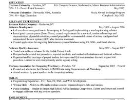 resume examples of good cv for students very good resume