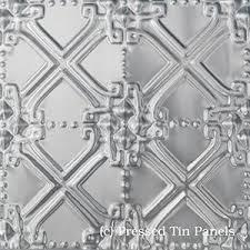 Decorative Pressed Metal Panels Pressed Tin Panels Original Dining Room Dado Feature Wall