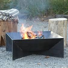 Steel Firepit Square Pit