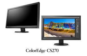 lcd monitor with colornavigator 6 coloredge cs270 eizo