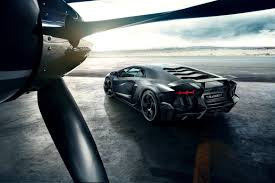 Lamborghini Aventador All Black - mansory carbonado