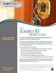 5 Home Loans by Jumbo Loan Options Prosperity Home Mortgage Llc