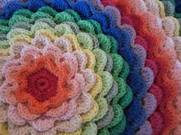 ravelry blooming flower cushion pattern by lucy of attic24