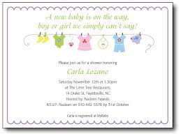 baby shower invite wording baby shower invitation poem 4124