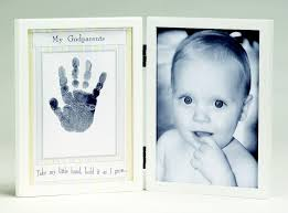 Godmother Gifts To Baby My Godparents 5x7 Handprint Frame