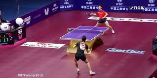 table tennis and ping pong point of the century at table tennis world chionships video