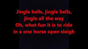jingle bells words lyrics best top popular favorite