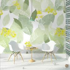 green wallpaper home decor tuya art wallpaper for walls in rolls strip wall mural on the wall