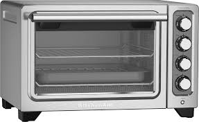 kitchenaid toaster oven kitchenaid kco253cu convection toaster pizza oven silver kco253cu