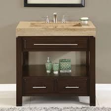 Single Bathroom Vanity Set Bathroom Chic Brown Wood Single Bathroom Vanities Perfecta With