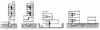 bauhaus floor plan barshch vladimirov housing commune first floor plans with four