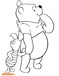 winnie pooh u0026 friends coloring pages disney coloring book