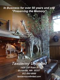 trophy rooms taxidermy unlimited