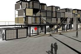 post disaster shipping container housing coming to dobro curbed ny