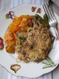 cuisine lyonnaise recettes la cuisine d ici et d isca côtes de porc à la lyonnaise