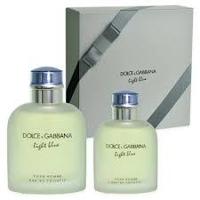 light blue fragrance gift set dolce gabbana light blue pour homme eau de toilette 125ml eau de