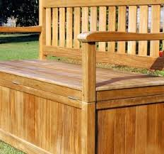 Garden Storage Bench Build by Wooden Storage Bench Benches Storage Bench With Cushion White