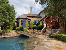 Infinity Pool Backyard by Luxury Home With Private Pool And Stunning Homeaway Gate