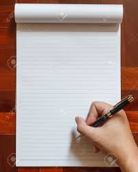 blank paper to write on write on notebook blank white page with pen wooden floor