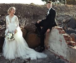 suzanne harward custom made size 6 wedding dress sale 50