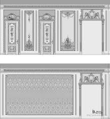 design of stucco design in classical interiors studio decor park
