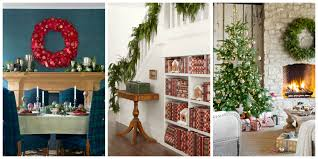 awesome pottery barn christmas decorating ideas with cream fabric