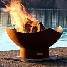 Fire Pit Globe by Wood Burning Fire Pits Woodlanddirect Com Outdoor Fireplace