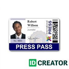 press badge template templates franklinfire co
