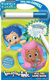 amazon com bendon bubble guppies imagine ink mess free game book