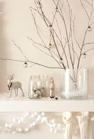 White Decorative Branches Simple Nature Decor