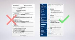 Fast Food Resume Examples Fast Food Resume Sample U0026 Complete Guide 20 Examples