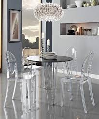 table chaise fille chaise pliante 5 chaise transparente la chaise ghost de