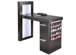 manicure table with built in led light adjustable height custom manicure table luxury mobile nail