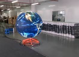 100 outdoor lighted spheres large outdoor balls