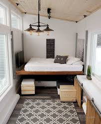 happijac bed brilliant tiny house features 500 diy elevator bed built with