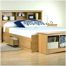 King Size Headboard With Storage Bed Headboard Storage View In Gallery Bed Bookcase Headboard